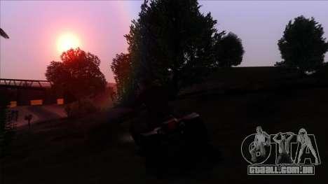 PhotoRealistic 2.0 Low settings para GTA San Andreas quinto tela