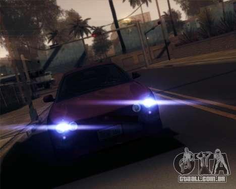 iNFINITY ENB para GTA San Andreas sexta tela