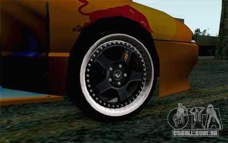 Nights Elegy para GTA San Andreas traseira esquerda vista