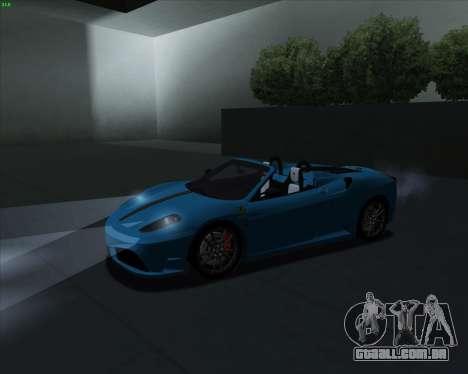 ENB Series for SAMP para GTA San Andreas quinto tela