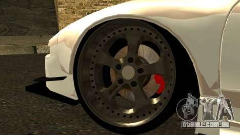 Honda NSX Street Killer para GTA San Andreas traseira esquerda vista