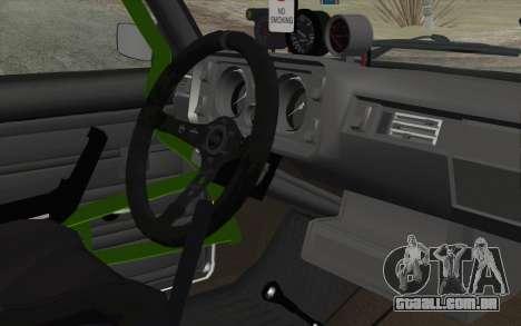 VAZ 2105 Drist-Obstáculo para GTA San Andreas vista direita