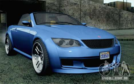 GTA 5 Ubermacht Sentinel Coupe SA Mobile para GTA San Andreas