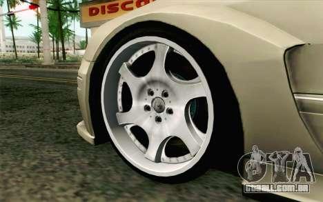Mercedes-Benz CLK DTM 2004 para GTA San Andreas traseira esquerda vista