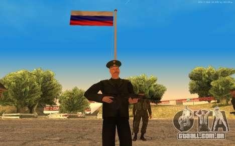 Coronel do exército russo para GTA San Andreas segunda tela