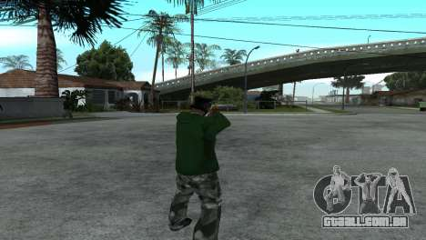 Gold Desert Eagle para GTA San Andreas terceira tela