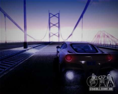iNFINITY ENB para GTA San Andreas quinto tela