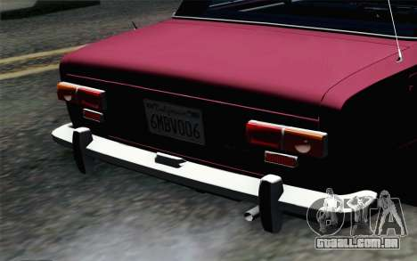VAZ 2101 Lowrider para GTA San Andreas vista traseira
