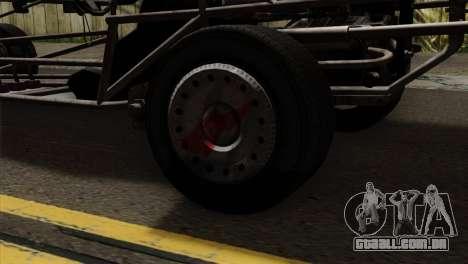 GTA 5 Space Docker para GTA San Andreas vista traseira