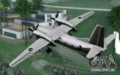 AN-32B Croatian Air Force Opened para GTA San Andreas esquerda vista