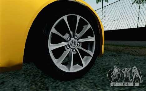 Honda S2000 Cabrio para GTA San Andreas traseira esquerda vista