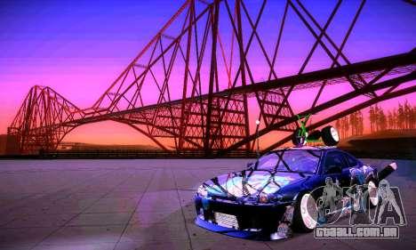 ANCG ENB v2 para GTA San Andreas twelth tela