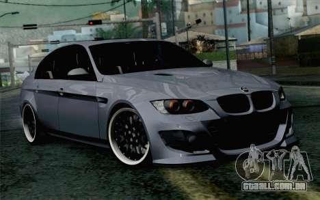 BMW M3 E90 Hamann para GTA San Andreas