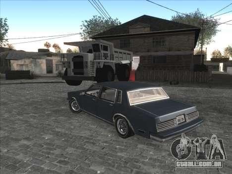 Personal car na Grove Street CJ para GTA San Andreas por diante tela