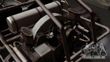 GTA 5 Dune Buggy IVF para GTA San Andreas vista traseira
