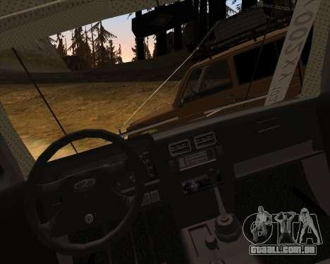 VAZ 2131 Niva 5D OffRoad para GTA San Andreas vista superior