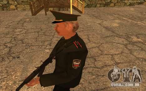 Coronel do exército russo para GTA San Andreas terceira tela