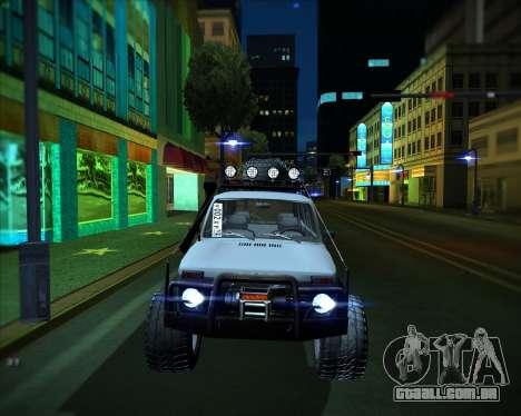 VAZ 2131 Niva 5D OffRoad para GTA San Andreas traseira esquerda vista
