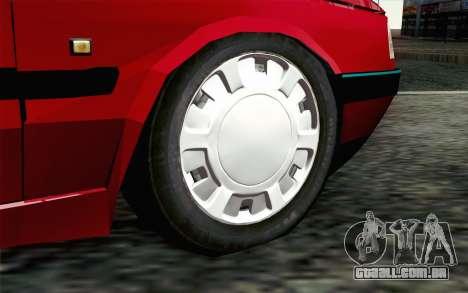 Peugeot 405 Tuning para GTA San Andreas traseira esquerda vista
