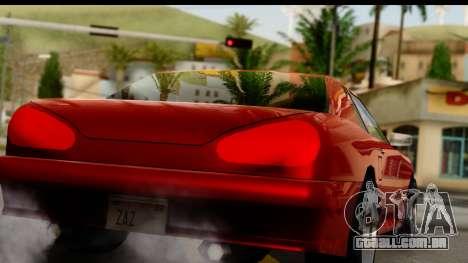 Elegy V1 para GTA San Andreas vista direita