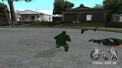 Gold Desert Eagle para GTA San Andreas segunda tela
