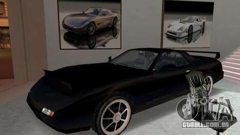 Beta ZR-350 Final para GTA San Andreas vista interior