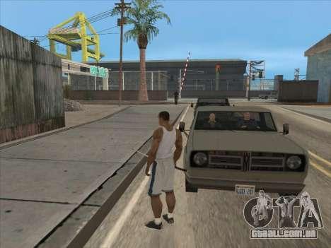 Os Russos, no distrito Comercial para GTA San Andreas por diante tela