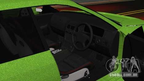 Toyota Mark II Tourer_V para GTA San Andreas vista traseira