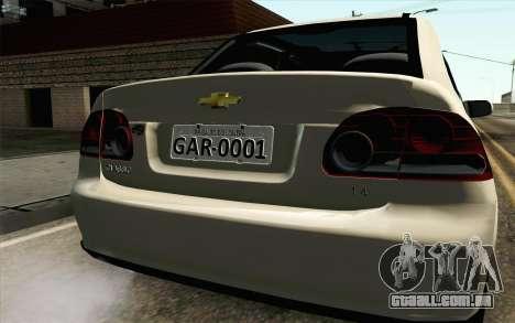 Chevrolet Classic para GTA San Andreas vista traseira
