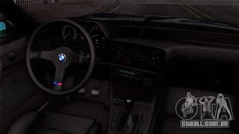 BMW M635 CSi 1984 Stock para GTA San Andreas vista direita
