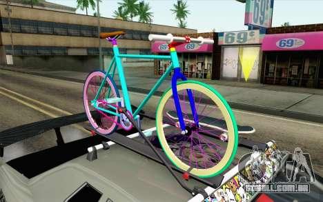 Elegy Modification para GTA San Andreas vista direita