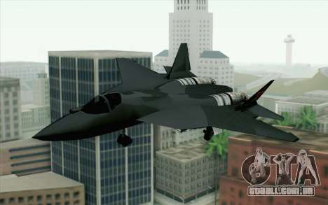 Sukhoi PAK-FA China Air Force para GTA San Andreas