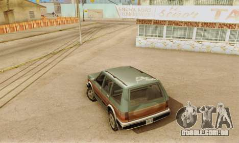 ENB Series v4.0 Final para GTA San Andreas quinto tela