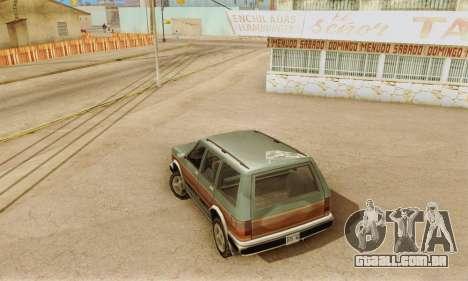 ENB Series v4.0 Final para GTA San Andreas quinto tela