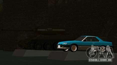 Nissan Skyline 2000 Turbo Intercooler RS-X kouki para GTA San Andreas vista interior