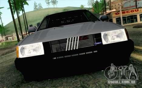 Fiat Regata para GTA San Andreas vista traseira