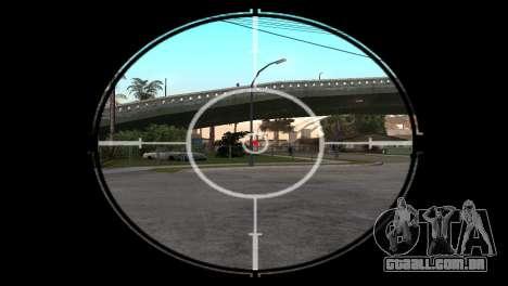 AWP DragonLore из CS:GO para GTA San Andreas terceira tela