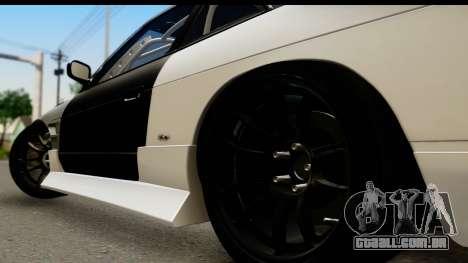 Nissan Silvia S13 Drift para GTA San Andreas traseira esquerda vista
