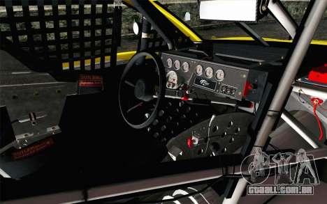NASCAR Ford Fusion 2013 v4 para GTA San Andreas vista direita