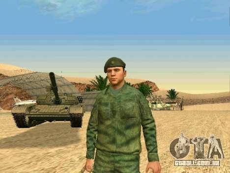 O militar russo está em uma nova forma para GTA San Andreas sétima tela