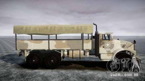 GTA 5 Barracks v2 para GTA 4 vista direita