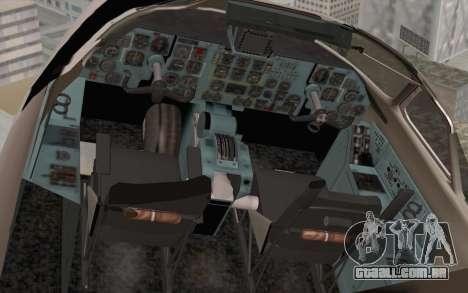 AN-32B Croatian Air Force Closed para GTA San Andreas vista traseira