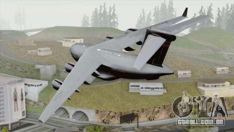 C-17A Globemaster III USAF Hickam para GTA San Andreas esquerda vista