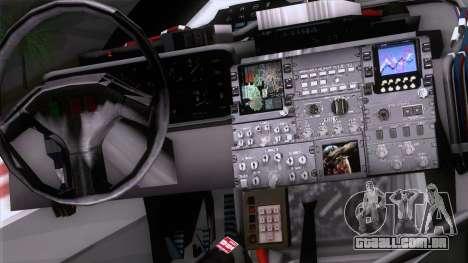 Shuttle v2 Mod 1 para GTA San Andreas vista direita