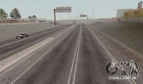HQ Roads by Marty McFly para GTA San Andreas sétima tela