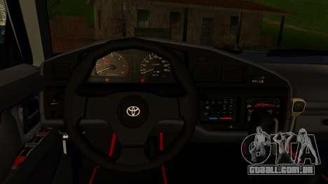 Toyota Land Cruiser 80 v1.0 para GTA San Andreas vista direita