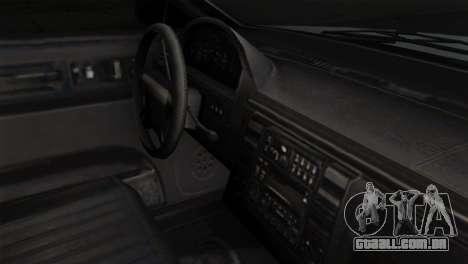 GTA 5 Vapid Stanier II SA Style para GTA San Andreas vista direita