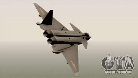 MIG 1.44 China Air Force para GTA San Andreas esquerda vista