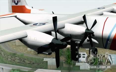 C-130H Hercules Coast Guard para GTA San Andreas vista direita