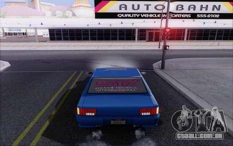 STI Sultan para GTA San Andreas traseira esquerda vista